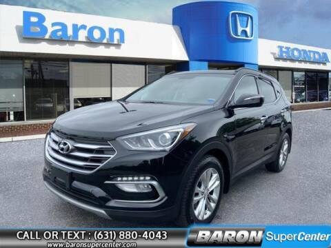 2018 Hyundai Santa Fe Sport for sale at Baron Super Center in Patchogue NY