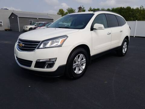 2013 Chevrolet Traverse for sale at Caps Cars Of Taylorville in Taylorville IL