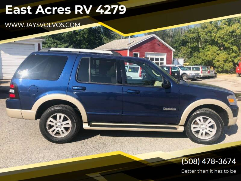 2006 Ford Explorer for sale at East Acres RV 4279 in Mendon MA