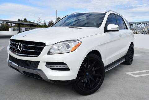 2013 Mercedes-Benz M-Class for sale at Dino Motors in San Jose CA