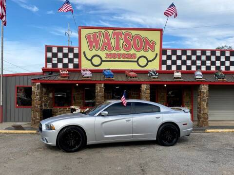 2011 Dodge Charger for sale at Watson Motors in Poteau OK