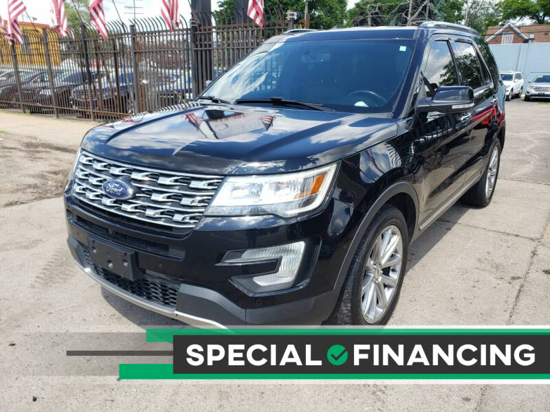 2017 Ford Explorer for sale at Gus's Used Auto Sales in Detroit MI