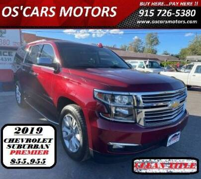 2019 Chevrolet Suburban for sale at Os'Cars Motors in El Paso TX