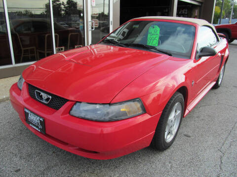 2003 Ford Mustang for sale at Arko Auto Sales in Eastlake OH