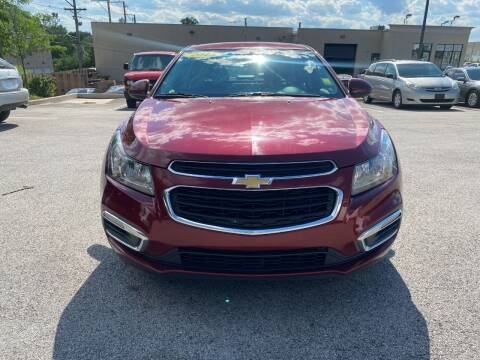 2015 Chevrolet Cruze for sale at Platinum Cars Exchange in Downers Grove IL