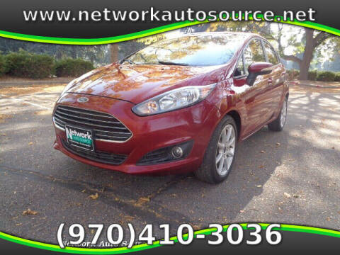 2015 Ford Fiesta for sale at Network Auto Source in Loveland CO