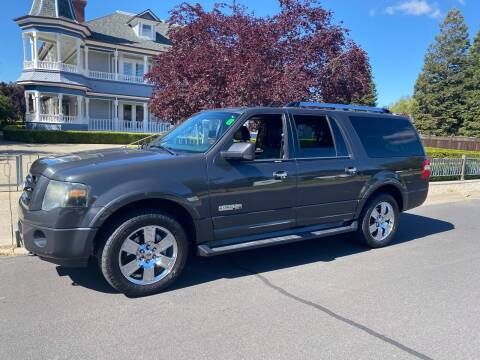2007 Ford Expedition EL for sale at California Diversified Venture in Livermore CA