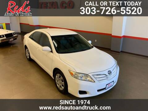 2010 Toyota Camry for sale at Red's Auto and Truck in Longmont CO