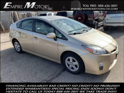 2010 Toyota Prius for sale at Empire Motors LTD in Cleveland OH