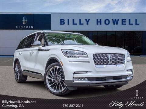 2021 Lincoln Aviator for sale at BILLY HOWELL FORD LINCOLN in Cumming GA
