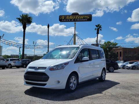 2016 Ford Transit Connect Wagon for sale at A MOTORS SALES AND FINANCE in San Antonio TX