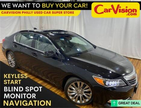 2016 Acura RLX for sale at Car Vision Mitsubishi Norristown - Car Vision Philly Used Car SuperStore in Philadelphia PA