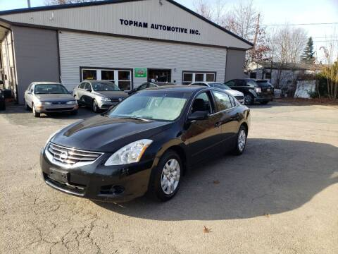 2010 Nissan Altima for sale at Topham Automotive Inc. in Middleboro MA