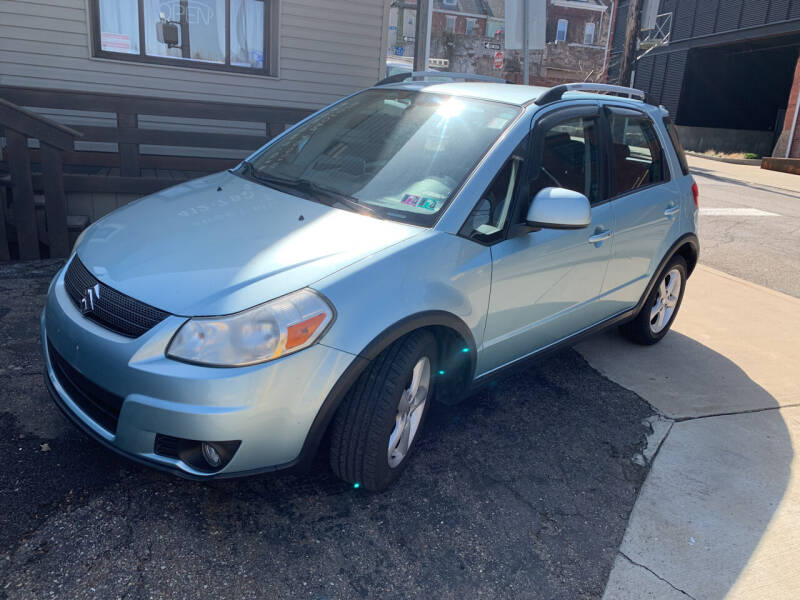 2009 Suzuki SX4 Crossover for sale at 57th Street Motors in Pittsburgh PA
