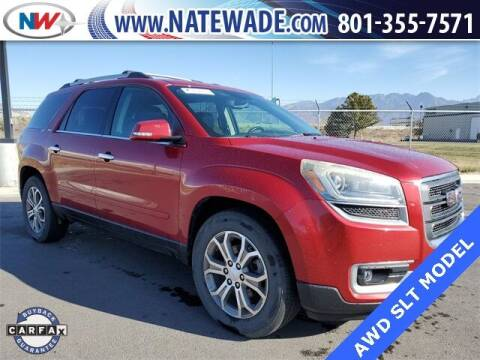 2013 GMC Acadia for sale at NATE WADE SUBARU in Salt Lake City UT