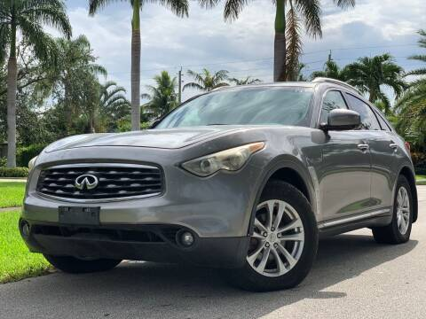 2009 Infiniti FX35 for sale at HIGH PERFORMANCE MOTORS in Hollywood FL
