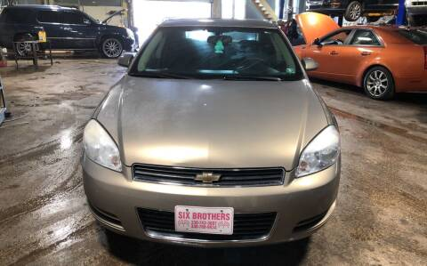 2006 Chevrolet Impala for sale at Six Brothers Auto Sales in Youngstown OH