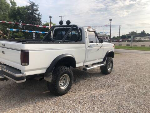 1985 Ford F-150 for sale at WINEGARDNER AUTOMOTIVE LLC in New Lexington OH
