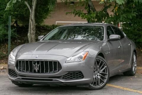 2017 Maserati Quattroporte for sale at Gravity Autos Atlanta in Atlanta GA