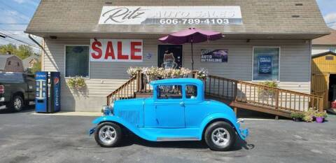 1931 Ford Model A for sale at Ritz Auto Sales, LLC in Paintsville KY