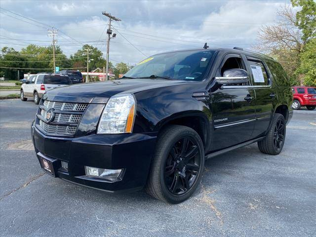 2014 Cadillac Escalade for sale at Tom Roush Budget Westfield in Westfield IN