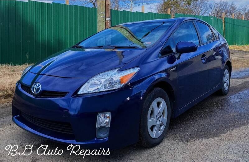 2010 Toyota Prius for sale at BD Auto Sales in Richmond VA