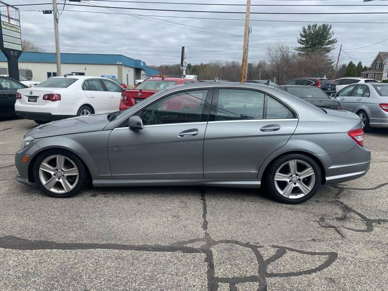 2011 Mercedes-Benz C-Class for sale at BAY CITY MOTORS in Portland ME