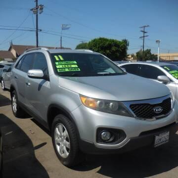 2011 Kia Sorento for sale at Luxor Motors Inc in Pacoima CA