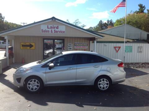 2012 Ford Fiesta for sale at LAIRD SALES AND SERVICE in Muskegon MI