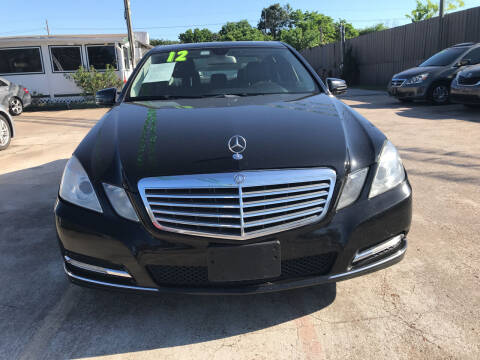 2012 Mercedes-Benz E-Class for sale at SOUTHWAY MOTORS in Houston TX