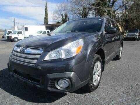 2013 Subaru Outback for sale at Lewis Page Auto Brokers in Gainesville GA