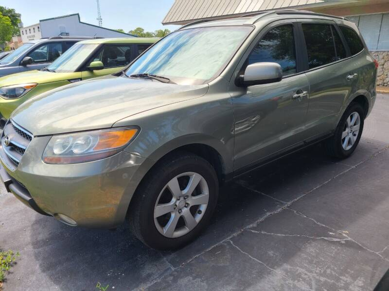2007 Hyundai Santa Fe for sale at CAR-RIGHT AUTO SALES INC in Naples FL