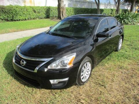 2014 Nissan Altima for sale at Roadmaster Auto Sales in Pompano Beach FL
