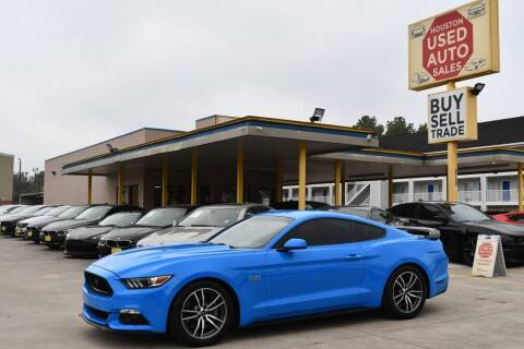 2017 Ford Mustang for sale at Houston Used Auto Sales in Houston TX