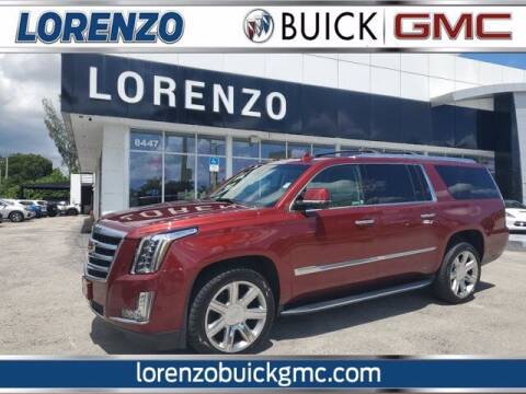 2020 Cadillac Escalade ESV for sale at Lorenzo Buick GMC in Miami FL