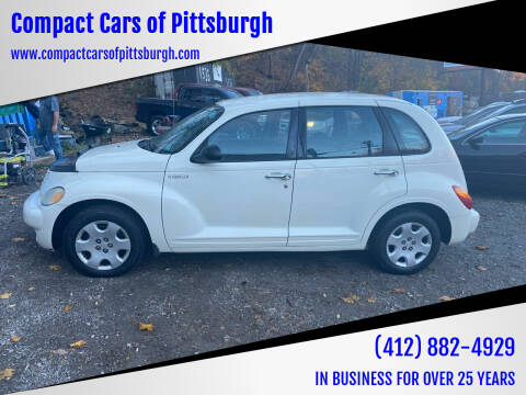 2005 Chrysler PT Cruiser for sale at Compact Cars of Pittsburgh in Pittsburgh PA