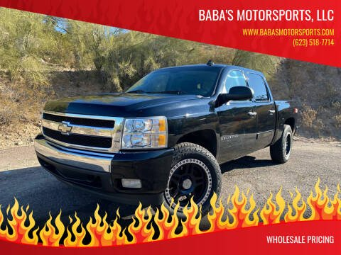 2007 Chevrolet Silverado 1500 for sale at Baba's Motorsports, LLC in Phoenix AZ
