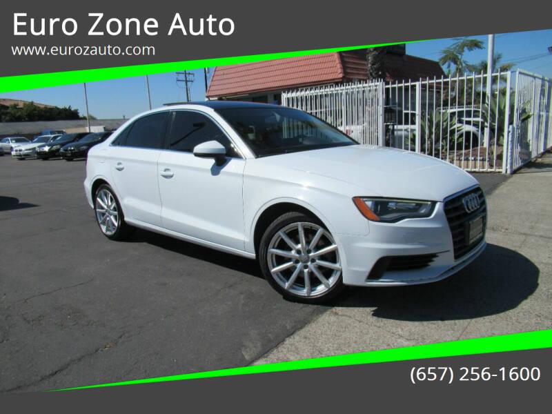 2015 Audi A3 for sale at Euro Zone Auto in Stanton CA