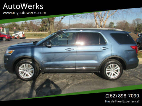 2018 Ford Explorer for sale at AutoWerks in Sturtevant WI