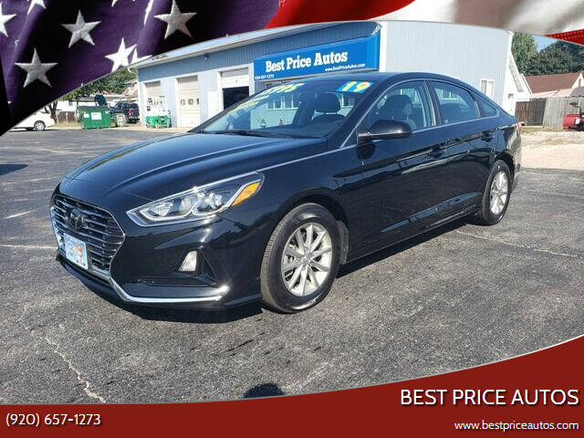 2019 Hyundai Sonata for sale at Best Price Autos in Two Rivers WI