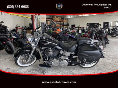 2015 Harley-Davidson FLSTN Softail Deluxe for sale at S S Auto Brokers in Ogden UT