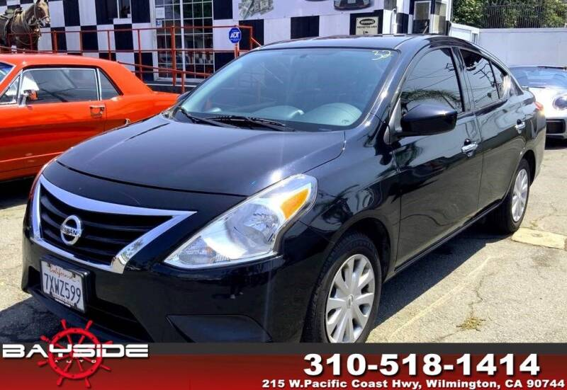 2017 Nissan Versa for sale at BaySide Auto in Wilmington CA