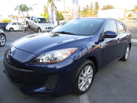 2012 Mazda MAZDA3 for sale at Eagle Auto in La Mesa CA