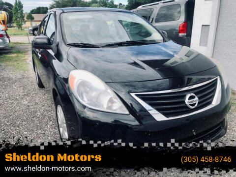 2014 Nissan Versa for sale at Sheldon Motors in Tampa FL
