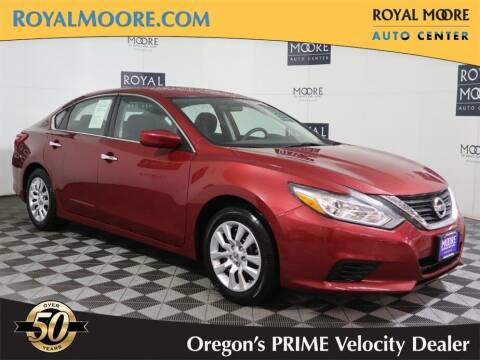 2016 Nissan Altima for sale at Royal Moore Custom Finance in Hillsboro OR
