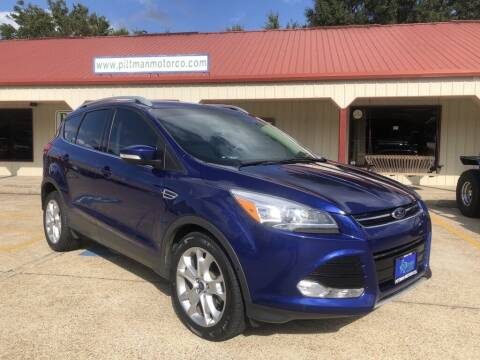 2015 Ford Escape for sale at PITTMAN MOTOR CO in Lindale TX