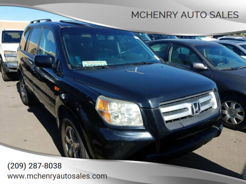2006 Honda Pilot for sale at McHenry Auto Sales in Modesto CA