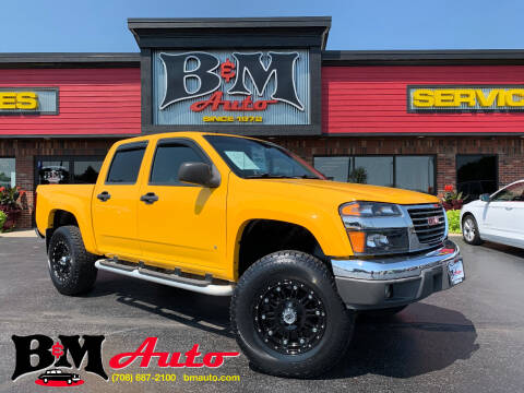 2006 GMC Canyon for sale at B & M Auto Sales Inc. in Oak Forest IL