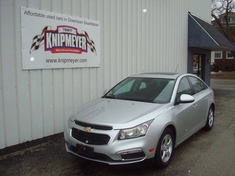 2016 Chevrolet Cruze Limited for sale at Team Knipmeyer in Beardstown IL