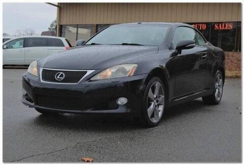 2010 Lexus IS 350C for sale at WHITE MOTORS INC in Roanoke Rapids NC